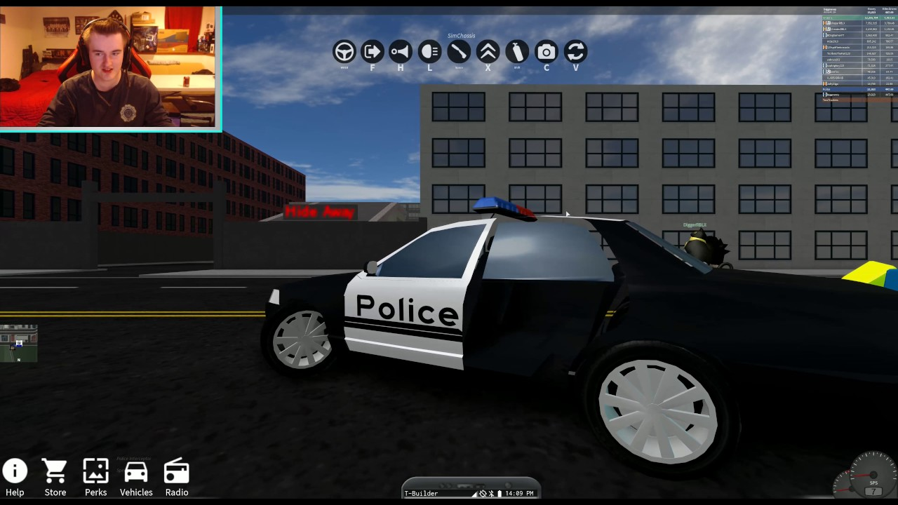 Epic Police Cars And Ford Gt Vehicle Simulator Ep  Roblox