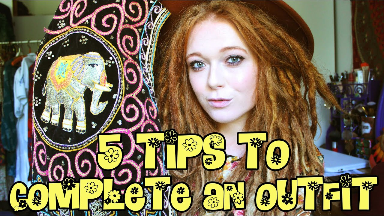 5 tips to complete an outfit groovy hippie style youtube. Black Bedroom Furniture Sets. Home Design Ideas