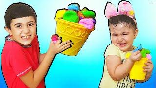Super Celina Make Big Ice cream - سوبر سيلينا وحسونة الايس كريم  للاطفال