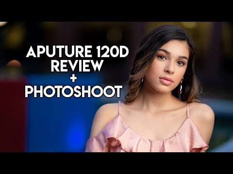 Aputure Light Storm COB 120D Review + Portrait Shoot using the Light!