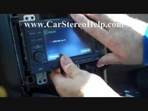 How to Nissan Rogue Bose Stereo radio Removal 2008 - 2013 replace