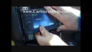 How to Nissan Rogue Bose Stereo radio Removal 2008 - 2013 replace repair