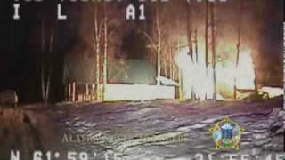 Dog Leads Alaska State Trooper To Fire.