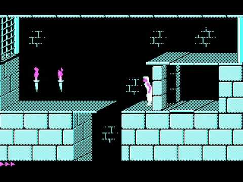 Prince of Persia with CGA graphics and internal speaker