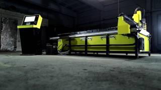 видео станок плазменной резки металла