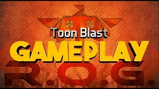 New Game! Toon Blast First Gameplay 1-5 Level on iPhone SE (2018)