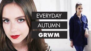 sunbeamsjess EVERYDAY AUTUMN GRWM Makeup + Outfit Compilation