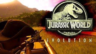 Jurassic World Evolution #17 | Betäubungsgewehr? | Gameplay German Deutsch thumbnail
