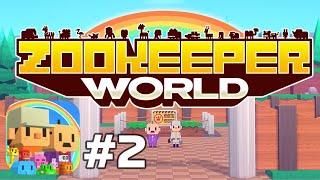 Apple Arcade: Zookeeper World - Match-3 Puzzle & Zoo Building Gameplay Walkthrough Part 2