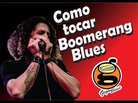 iniciante -  Como tocar Boomerang Blues | Harmônica - [ Gaita de boca]
