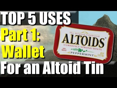 Top 5 Uses for an Altoids Tin: Part 1 | RevHiker