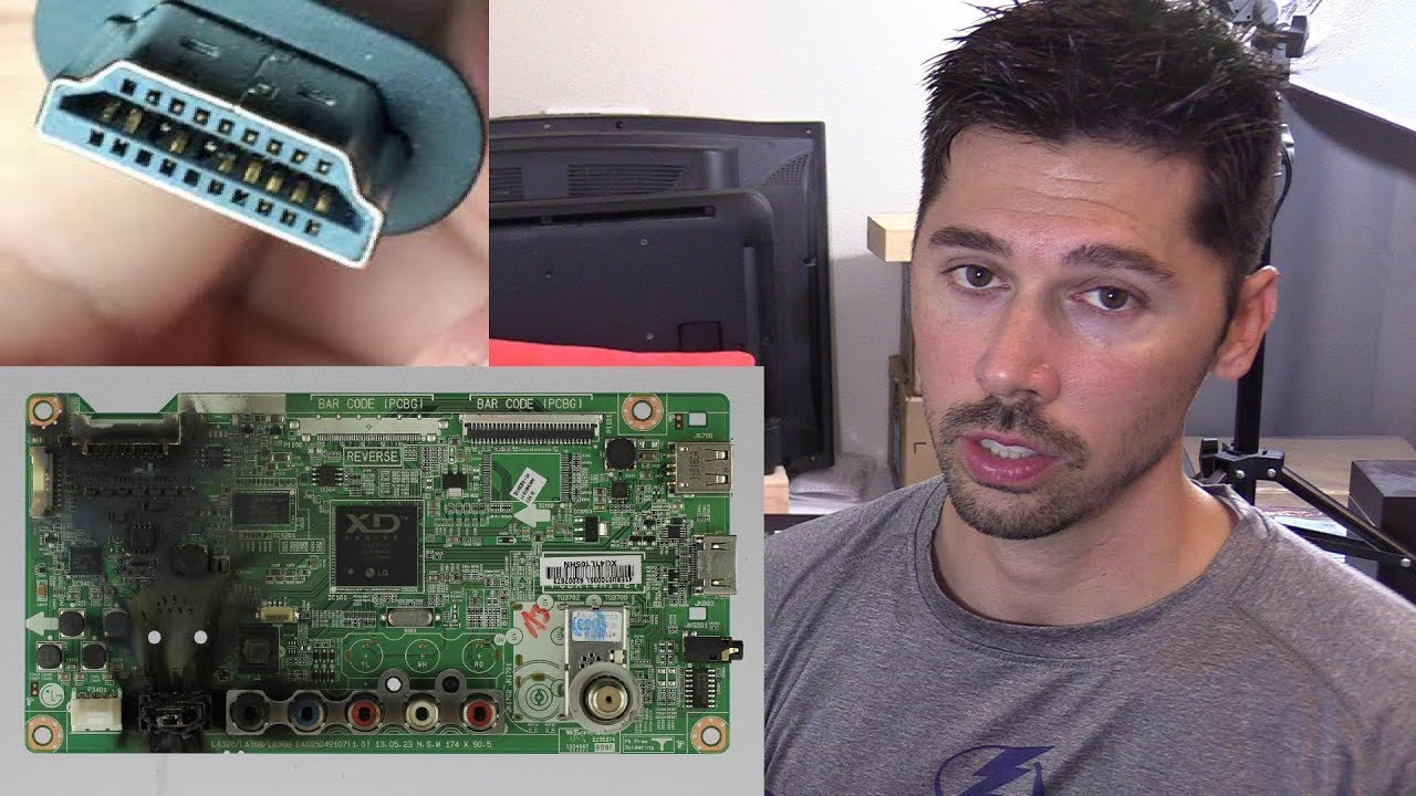 Led Lcd Tv Repair Guide For Fixing Common Tv Problems Without A Multimeter Youtube