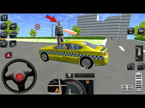 Yellow Gleam Taxi Driver 3D - New York City Taxi Simulator - Android Gameplay