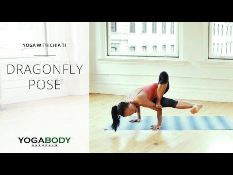 How to Do Dragonfly Pose Yoga Tutorial