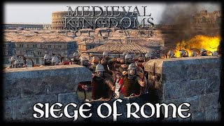 SIEGE OF ROME! Total War Attila MEDIEVAL MOD Early Access Gameplay!