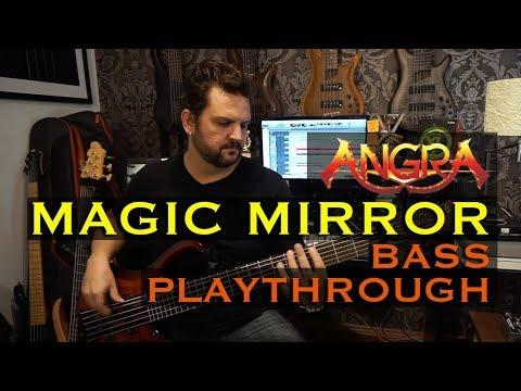 Felipe Andreoli - Angra - Magic Mirror [Bass Playthrough]