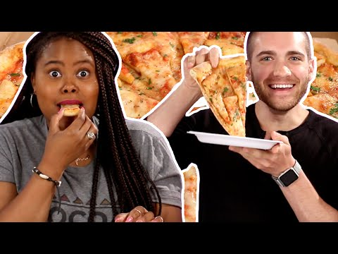 Thumbnail: Pizza Lovers Try Pizza Topped With Mini Pizzas