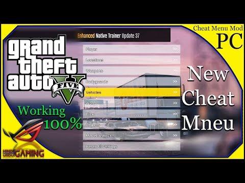 How To Install Cheat Menu In GTA 5 PC In Hindi Urdu    GTA V New Trainer