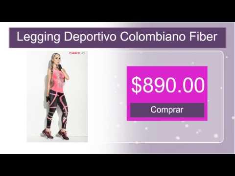 Legging Deportivo Colombiano Fiber