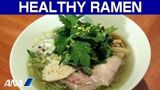 Brian, a ramen expart from US introduces a healthy Green Ramen @ Ro...