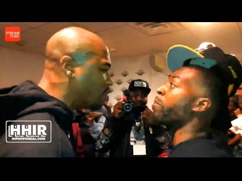 TAY ROC & SERIUS JONES IN A HEATED  FACE OFF AT U DUBB #HIGHSTAKES 2 (BATTLE RAP FRENZY)