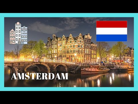 Walking around historic AMSTERDAM, (The Netherlands, Holland)