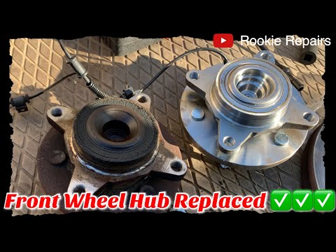 How to Replace Front Wheel Bearing Hub Assembly Ford Expedition Lincoln Navigator 2003-2006