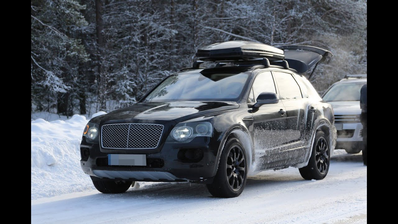 2016 Bentley Bentayga a price tag of around £140,000 - YouTube