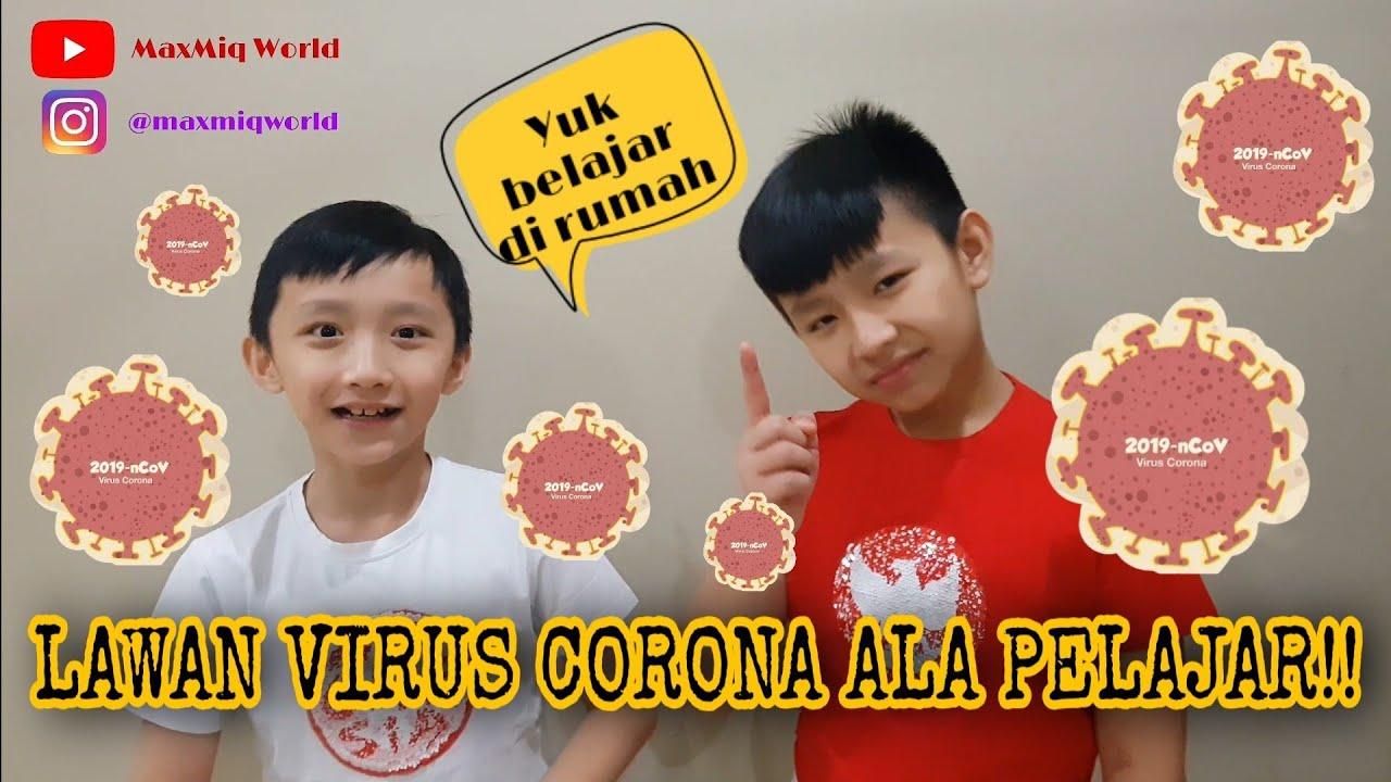 Lawan Corona ala Pelajar!!! Yuk Belajar di rumah!