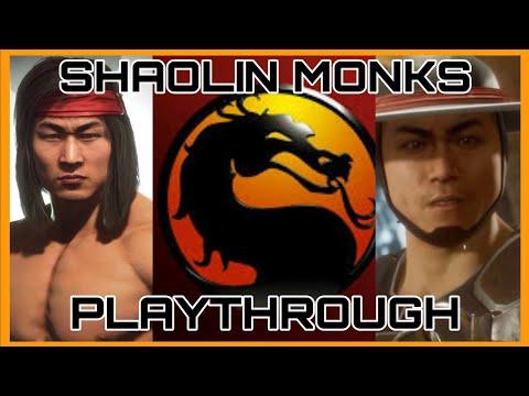 Mortal Kombat Shaolin Monks [Longplay] [PS2]