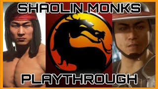 Скачать Mortal Kombat Shaolin Monks Longplay PS2