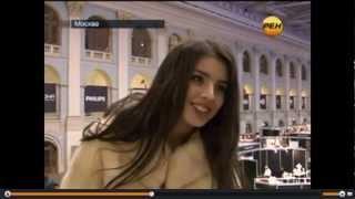 Абдразакова отказалась отвечать на неудобные вопросы РЕН ТВ