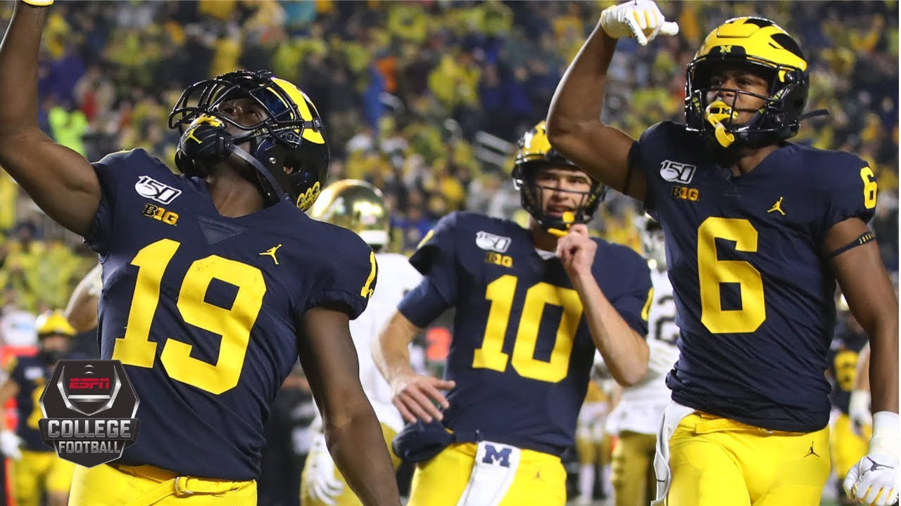 Notre Dame vs. Michigan | NCAAF Week 9 | College Football ...
