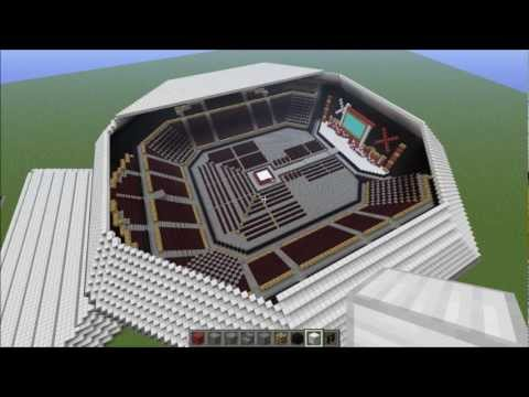 WWE Raw Arena - Minecraft