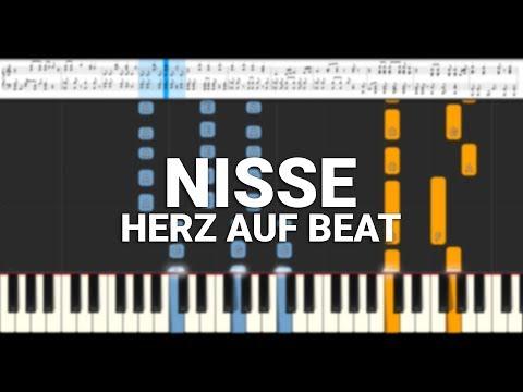 NISSE   HERZ AUF BEAT Piano Tutorial