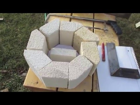 Cutting Insulating Fire Brick For Rocket Mass Heater Youtube