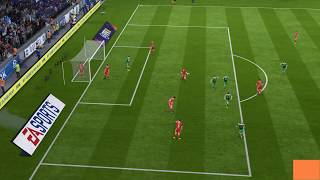 FIFA 18 FAILS ... Glitches,Stupid Goals Min 1:10 epic fail
