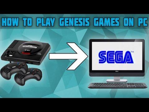 How to Play Sega Genesis Games on PC! Genesis Emulator! Fusion Setup tutorial!