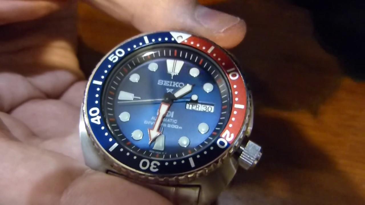 1794d3b36b9 Unboxing - Relógio de Mergulho Seiko PADI Turtle SRPA21B1 Diver Automático  - Thauro Relógios