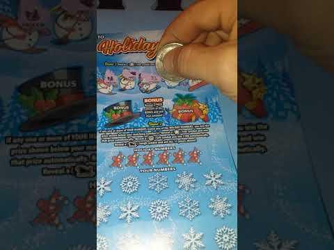 $Holiday fun ohio lottery ticket🎅🎅🎅