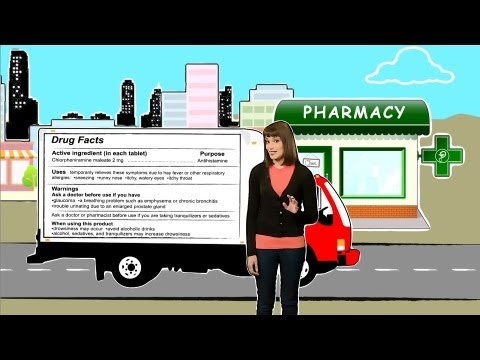 Medicines In My Home: The Over-the-Counter Drug Facts Label
