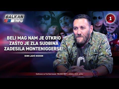 INTERVJU: Niggor - Beli mag nam je otkrio zašto je zla sudbina zadesila Monteniggerse! (7.10.2018)