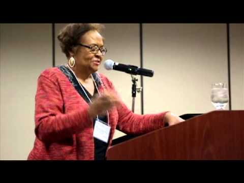 Dr  Joyce Ladner at the 41st Dr. Joseph H. McMillan Black Family Conference