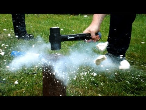 Tested Vs. The Liquid Nitrogen Dewar