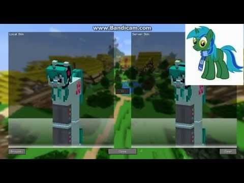 Minecraft Spielen Deutsch My Little Pony Skins Fr Minecraft Bild - My little pony skins fur minecraft