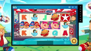 317 - BIG WIN! Trump Game Rocket Man Slot Test Gameplay - #casino #slot #onlineslot #казино