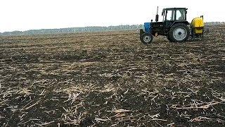 Последействие Евролайтинга на посевах Пшеницы.