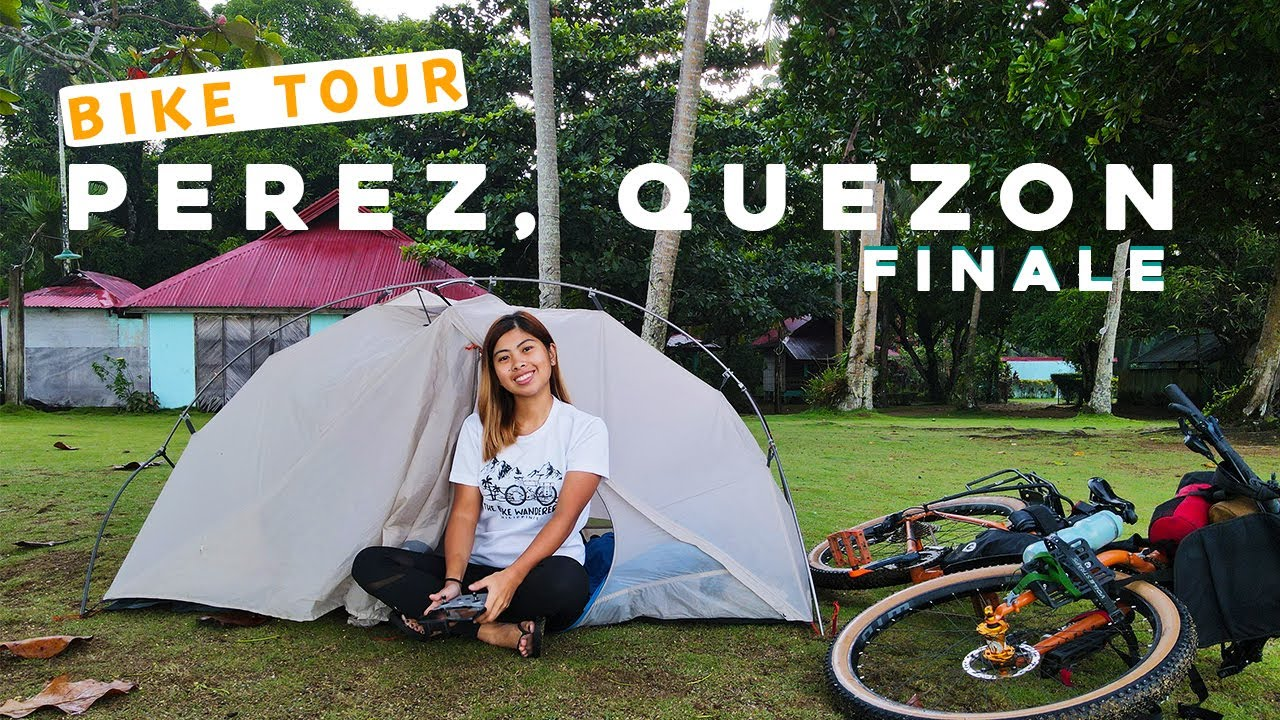 BIKE CAMPING IN PEREZ, QUEZON: ALABAT FINALE