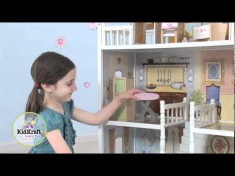 Kidkraft juego de mobiliario de lujo para casa de mu ecas - Casa de munecas ...