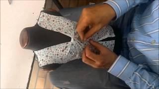Practica en clases, después del desarrollo del patronaje y el análisis del diseño, podemos llegar a realizar una prenda sin ningún inconveniente, fácil y practico ...